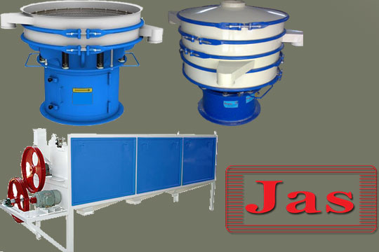 Screening machinery and separators