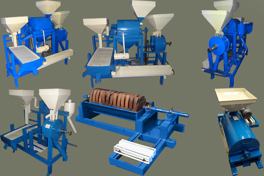 Pulses Processing Machines